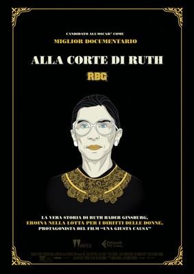 Anteo Palazzo del Cinema presenta ALLA CORTE DI RUTH - RBG