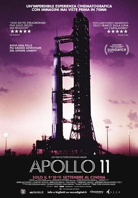 APOLLO 11 in programmazione nelle sale spazioCinema