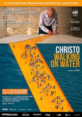 Proiezione speciale di CHRISTO - WALKING ON WATER  con il regista Andrey Paounov e la produttrice Izabella Tzenkova