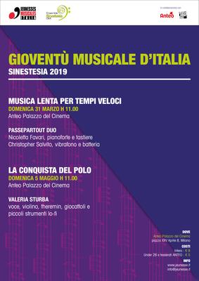 concerto LA CONQUISTA DEL POLO di Valeria Sturba, polistrumentista