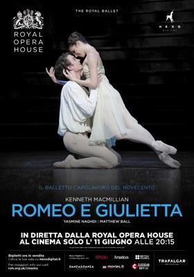 Nuovo appuntamento con il ROYAL BALLET a Cremona e Treviglio: 11 giugno ore 20.15 ROMEO E GIULIETTA