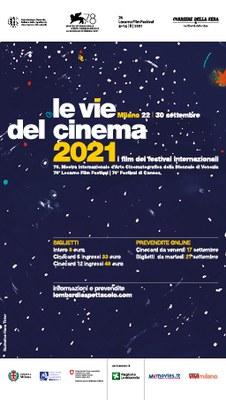 LE VIE DEL CINEMA EDIZIONE 2021