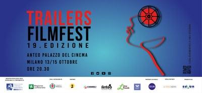 TORNA ALL'ANTEO PALAZZO DEL CINEMA IL TRAILERS FILM FEST - 13/15 OTTOBRE